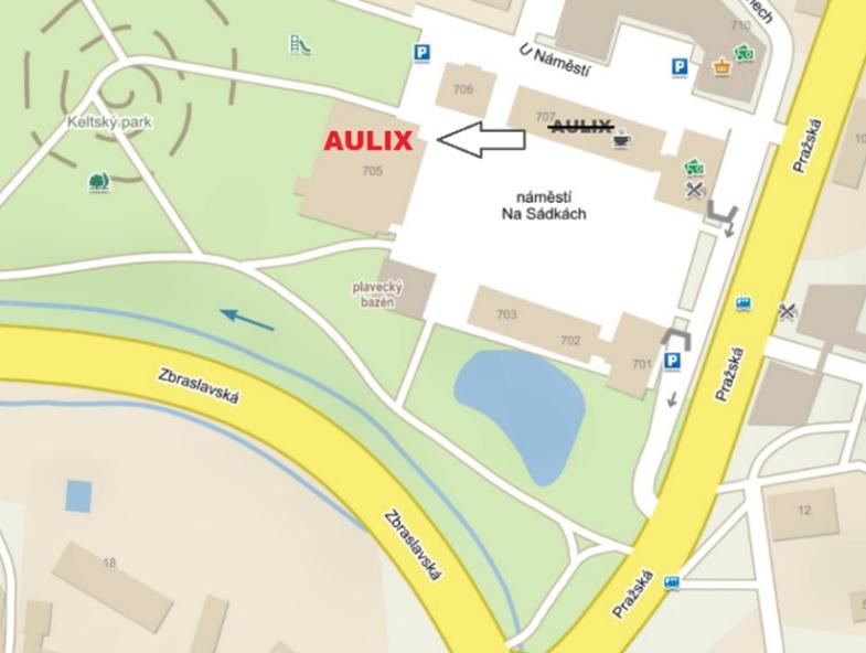 e7be00fcf64 Světelné studio AULIX najdete nyní na nové adrese  ...